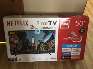 50 inch smart TV RCA 4K LED for Sale in Mishawaka, IN
