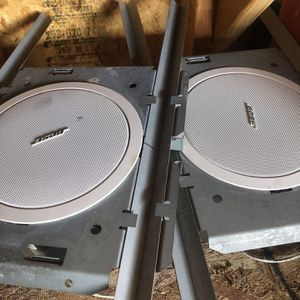Bose Ceiling Speaker Models 32 With Brackets for Sale in Aurora, CO