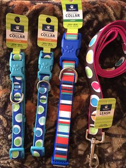 Pet Collars !! Leash, Butterfly Harness. for Sale in Phoenix,  AZ