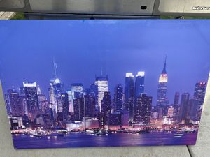 New York Skyline Canvas wall art for Sale in Aurora, CO
