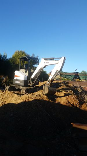 Bobcat, backhoe & mini excavator operated equipment no bare rent for Sale in Moreno Valley, CA
