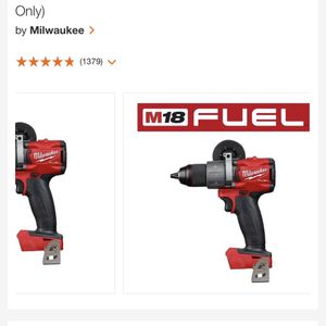 Milwaukee M18 Fuel Hammer Drill for Sale in Los Angeles, CA