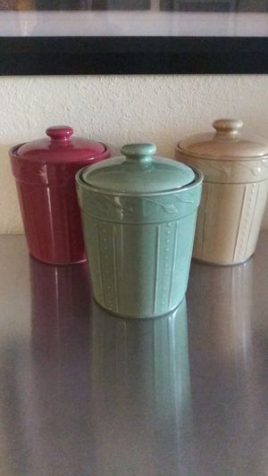 Kitchen canisters for Sale in Newark, CA