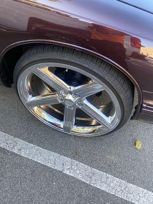 24 inch rims for Sale in San Jose, CA