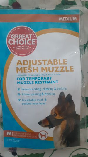 Muzzle never used for Sale in Leesburg, FL