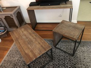 Set of 3 Tables for Sale in Denver, CO