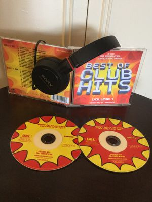 BEST OF CLUB HITS 🎶🇺🇸😎 Volume 1 / 2 CD. DJ GEOFFE for Sale in Lincolnia, VA