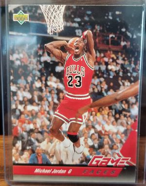 1993 Upper Deck Michael Jordan Game Face for Sale in Pembroke Pines, FL