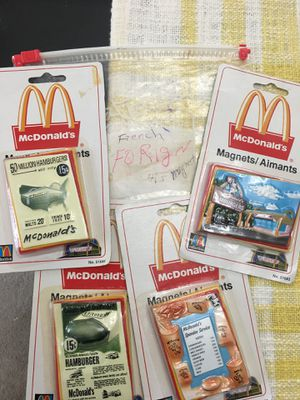 Magnets from France-McDonalds for Sale in Chapel Hill, NC