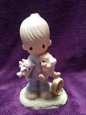 """RARE Precious Moments, """"Blessed are the Peacemarkers,"""" no production mark for Sale in Escondido, CA"""