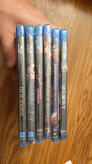 Various blu-ray movies - new unopened for Sale in Buffalo, NY