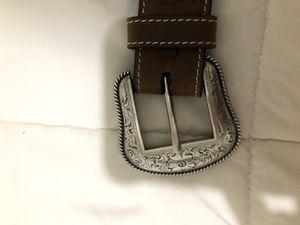 Western tooled belt for Sale in Irving, TX