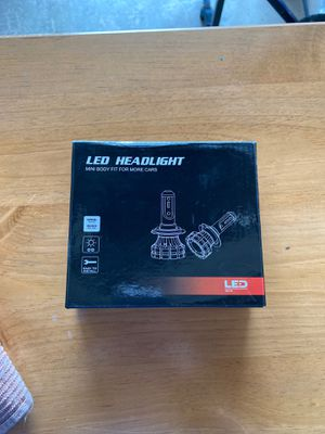 Led headlights H7 l6 12-24V for Sale in Snohomish, WA