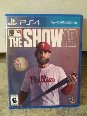 Mlb The Show 19 Ps4 for Sale in Fresno, CA
