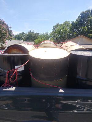 Oil drums 55 gallon for Sale in San Antonio, TX