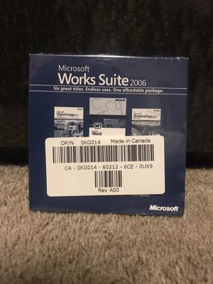 Microsoft word /digital image and more (sealed) for Sale in San Bruno, CA