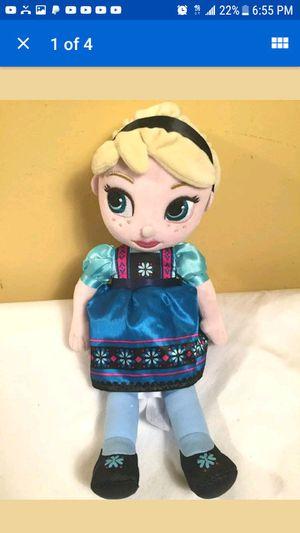 "Frozen Elsa Plush doll 13 "" for Sale in Hawthorne, CA"