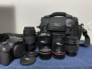 Canon Rebel T6 Kit for Sale in Archdale, NC