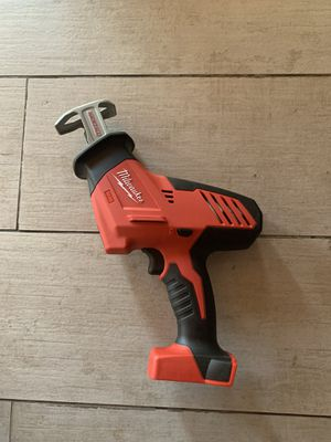 Milwaukee m18 hackzall saw TOOL ONLY for Sale in Glendora, CA