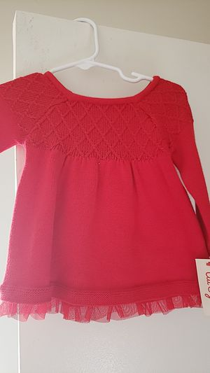 Baby girl red sweater dress for Sale in Ontario, CA