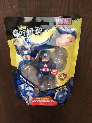 Heroes of Goo Jit Zu Marvel Captain America for Sale in Sacramento, CA