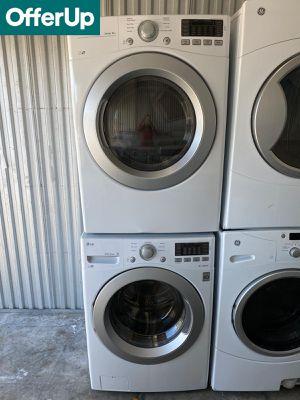LG Front Load Washer Electric Dryer Set Stackable #1269 for Sale in Melbourne, FL