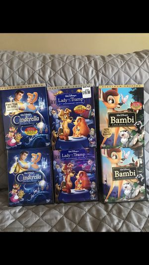 Disney dvd movies for Sale in Maywood, CA