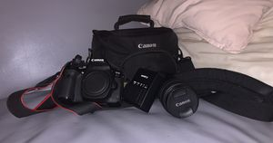 Canon ESO80D Camera for Sale in Oakland, CA