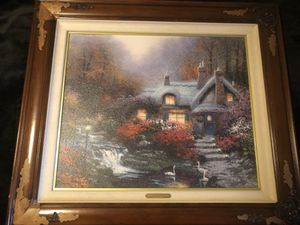 Thomas Kinkade Painting for Sale in Raleigh, NC