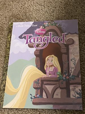 Five princess Little Golden Books. Moana, Frozen, Sleeping Beauty, Beauty and the Beast, Tangled for Sale in Kent, WA