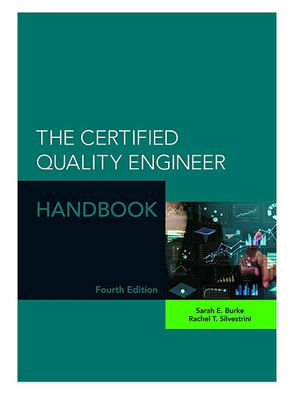 The Certified Quality Engineer Handbook, 4th Edition for Sale in Bremerton, WA