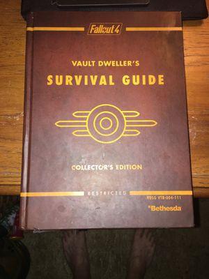 Fallout 4 Collectors edition survival guide for Sale in Jena, LA