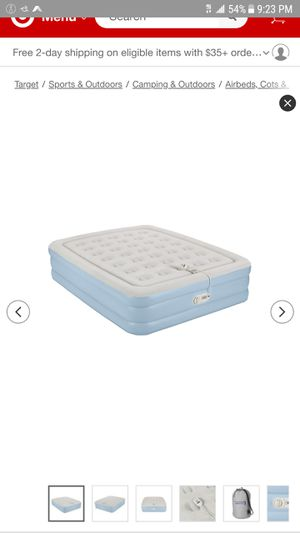 17 inch double stack queen air mattress aerobed for Sale in Happy Valley, OR