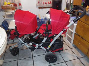Contours double stroller with car seat attachment for Sale in Springfield, PA