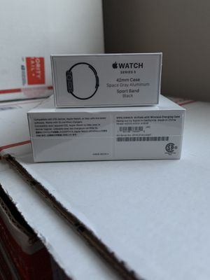 Apple Watch series 3 and AirPods new sealed. for Sale in Blacklick, OH