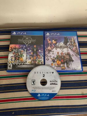 Kingdom hearts ps4 games for Sale in Oakland, CA