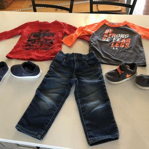 2t/7c toddler boy clothing and shoe/sneaker lot- see details and all photos for Sale in Depew, NY