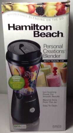 Brand New Hamilton Beach Personal Single Serve Blender with Travel Lid for Sale in New York, NY