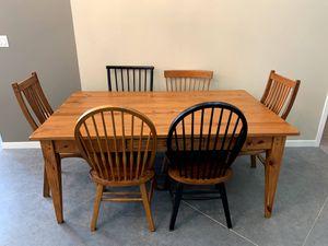 Kitchen/Dining Farm Table - $1100 OBO for Sale in Manassas, VA