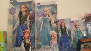 Disney frozen 2013 original dolls for Sale in Tampa, FL
