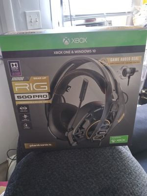 Plantronics RIG500 Pro for ALL CONSOLES for Sale in Belleair, FL