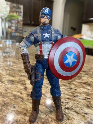 "Marvel Legends Hasbro Avengers Mandroid BAF Captain America 6"" Action Figure for Sale in Fayetteville, NC"