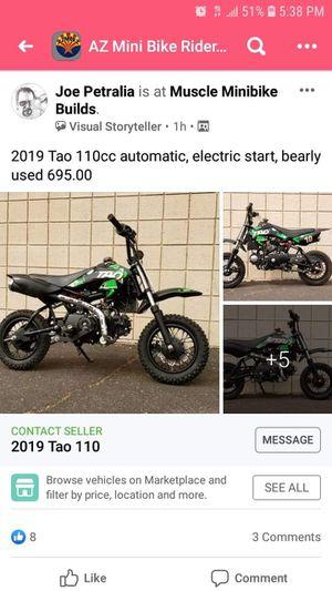 Tao tao 110cc Pitbike for Sale in Phoenix, AZ