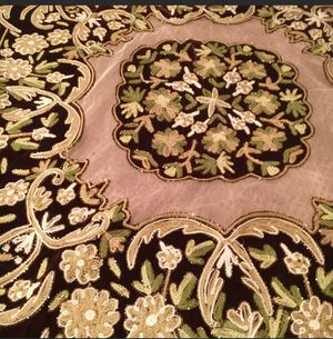 New /tablecloth with beaded for Sale in Crownsville, MD