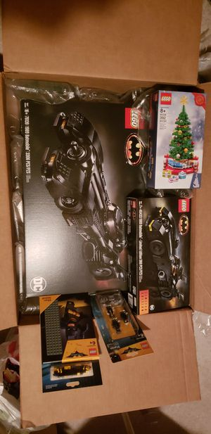 LEGO 1989 BATMOBILE 76139 LIMITED EDITION 40433/ CHRISTMAS TREE 40338 plus more for Sale in Ellicott City, MD