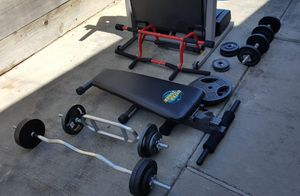 Standard gym equipment for Sale in Benicia, CA