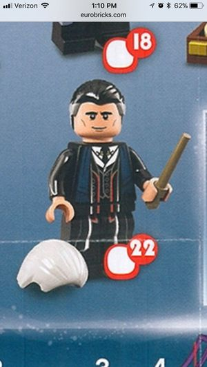 Lego Harry Potter Percival Graves Rare NEW for Sale in Temecula, CA