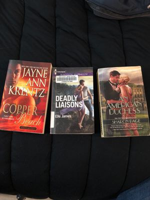 A trio of romance novels for Sale in Portland, OR