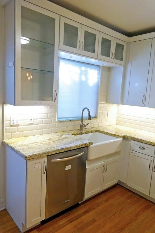 Complete Kitchen, Merillat Masterpiece White Kitchqen ...