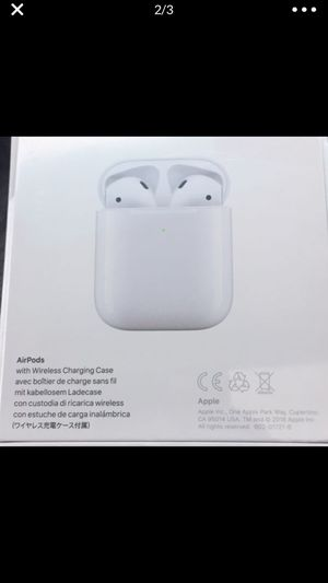 Apple AirPods with wireless charging case sealed for Sale in Centreville, VA